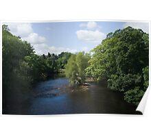 River Wharfe Ilkley Poster
