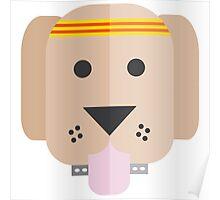 Pop Design: Fit Dog Poster