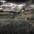 Broken Fence by Mark Mair