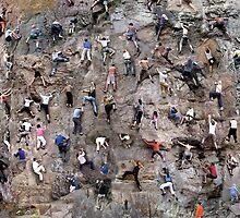 climbers by Simon Yeomans