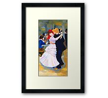 Dance at Bougival after Renoir Framed Print