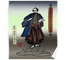 Samurai Charles Dickens Poster