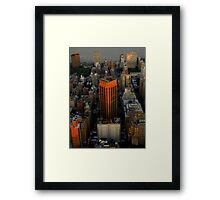 From Above ~ Part Three Framed Print