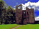 Etal Castle (HDR) by Ryan Davison Crisp