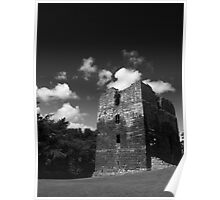 Etal Castle, Northumberland Poster