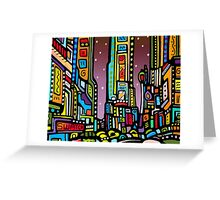 Lynne Neuman Times Square #et3006 Greeting Card
