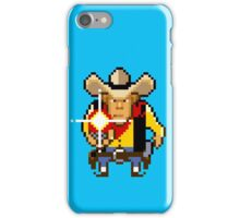 Guns n' bottles icon iPhone Case/Skin