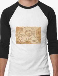 Marauder's Map Men's Baseball ¾ T-Shirt