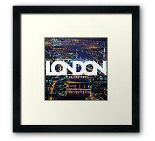 London In Color Framed Print