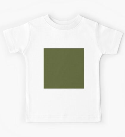 Beautiful Cushions/ Plain Army green Kids Tee