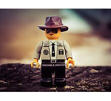 Lego officer Photographic Print