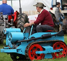 Ransomes MG2 Crawler Tractor (1946) by Franco De Luca Calce