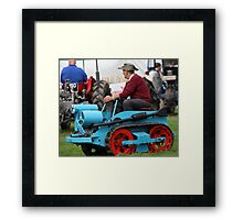 Ransomes MG2 Crawler Tractor (1946) Framed Print