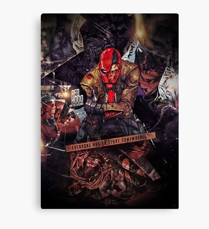 Red Hood - Everyone Has To Start Somewhere Canvas Print