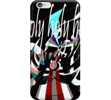 Holy, Holy, Holy, Abstract Angel Design by Jenny Meehan iPhone Case/Skin