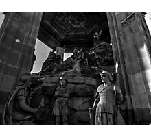 Mount Of Olives Sculpture Near Speyer Cathedral Germany Photographic Print