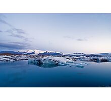 Glacier Lagoon #5 Photographic Print