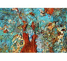 Abstract in Metal ~ Fantasia Photographic Print