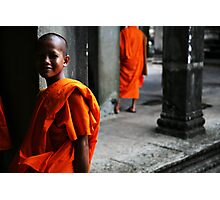 In the temple Photographic Print