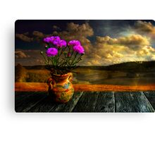 Countryside atmosphere Canvas Print