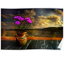 Countryside atmosphere Poster