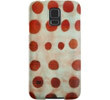 red spots Samsung Galaxy Case/Skin
