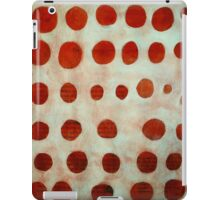 red spots iPad Case/Skin