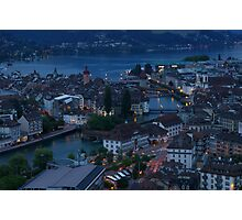 Lucerne from Gütsch Photographic Print