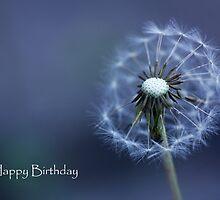 Birthday card: Blown Away by Leanne Jones