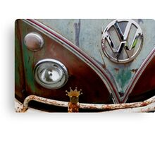crowned-VW Canvas Print