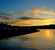 Kirkwall Bay Sunset by Panalot
