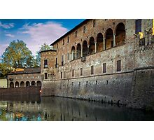 Italian Castle - San Vitale Castle of  Fontanellato Photographic Print