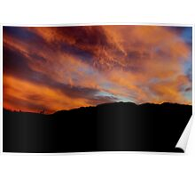 The most dramatic sunset what I have seen Poster