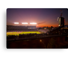 Wrigley Field at dusk Canvas Print