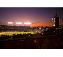 Wrigley Field at dusk Photographic Print