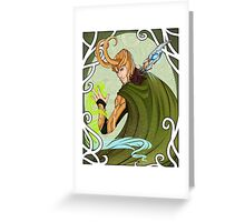 Viva la Loki Greeting Card