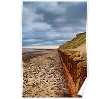 Sheringham Beach Norfolk UK Poster