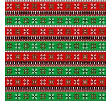 Dotted Christmas Photographic Print