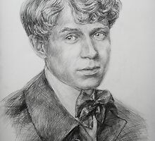Sergey  Yesenin by Anthropolog