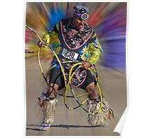 Hoop Dancer Poster