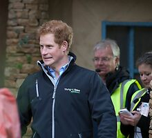 Prince Harry by Keith Larby