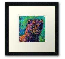 Earth Keeper: Mink Framed Print