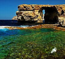 Azure window by Ronald cox
