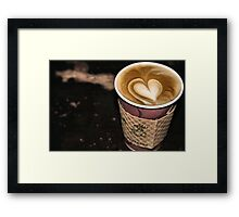 Coffee Lovin' Framed Print