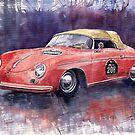 Porsche 356 Speedster Mille Miglia by Yuriy Shevchuk