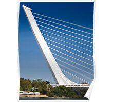 Alamillo Bridge, Andalucía, Sevilla, Spain Poster
