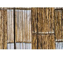 Bamboo Wall Photographic Print