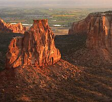 Colorado National Monument by Steve  Taylor
