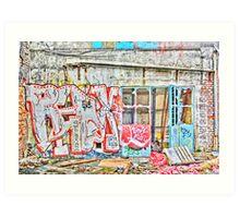 Suhr's Auto Mayhem Art Print