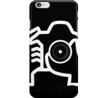Photographer Camera T-Shirt iPhone Case/Skin